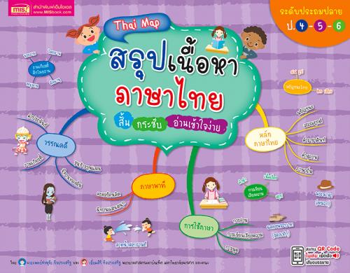Thai Map สรุปเนื้อหาภาษาไทย ระดับประถมปลาย