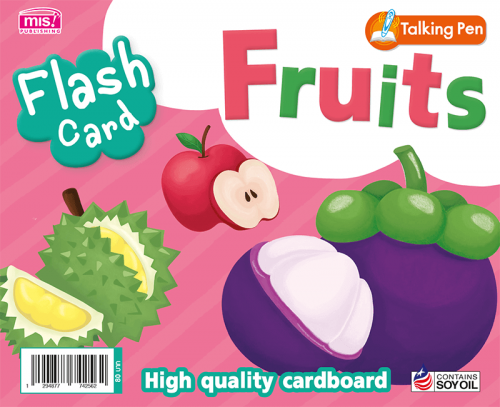 Flash Card - Fruits