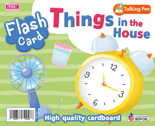 Flash Card - Things in the House