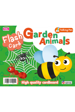 Flash Card - Garden Animals