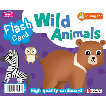Flash Card - Wild Animals