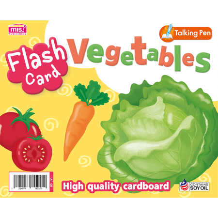 Flash Card - Vegetables