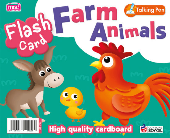 Flash Card - Farm Animals