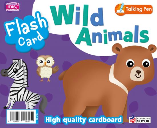 Flash Card - Wild Animals