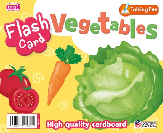 Flash Card - Vegetables