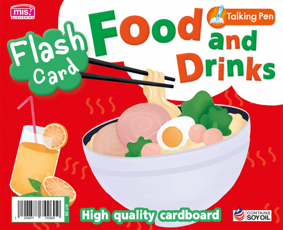 Flash Card - Food and Drinks