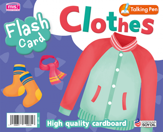 Flash Card - Clothes