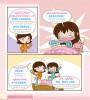 สนทนาภาษาจีนกลาง ในครอบครัว ชุด กิจวัตรประจำวัน ของหนูน้อย