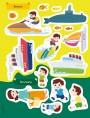 สติกเกอร์พัฒนา EQ ของหนู ยานพาหนะพาสนุก (ฟรี! สติกเกอร์กว่า 100 ชิ้น ในเล่ม)