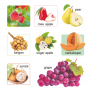 100 First Fruits & Vegetables (Board Book)
