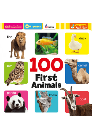 100 First Animals (Board Book)