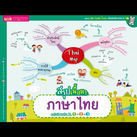 Thai Map สรุปเนื้อหาภาษาไทย ระดับมัธยมต้น ม.1-2-3